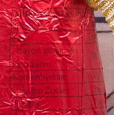 Père Noël Chocolat au Lait - Voedingswaarden