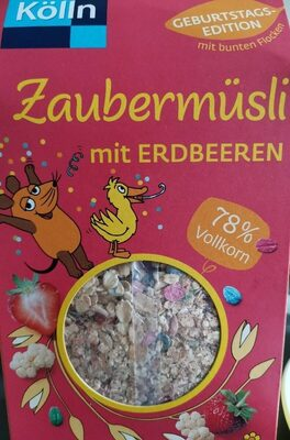 Zaubermüsli mit Erdbeeren - Prodotto - de