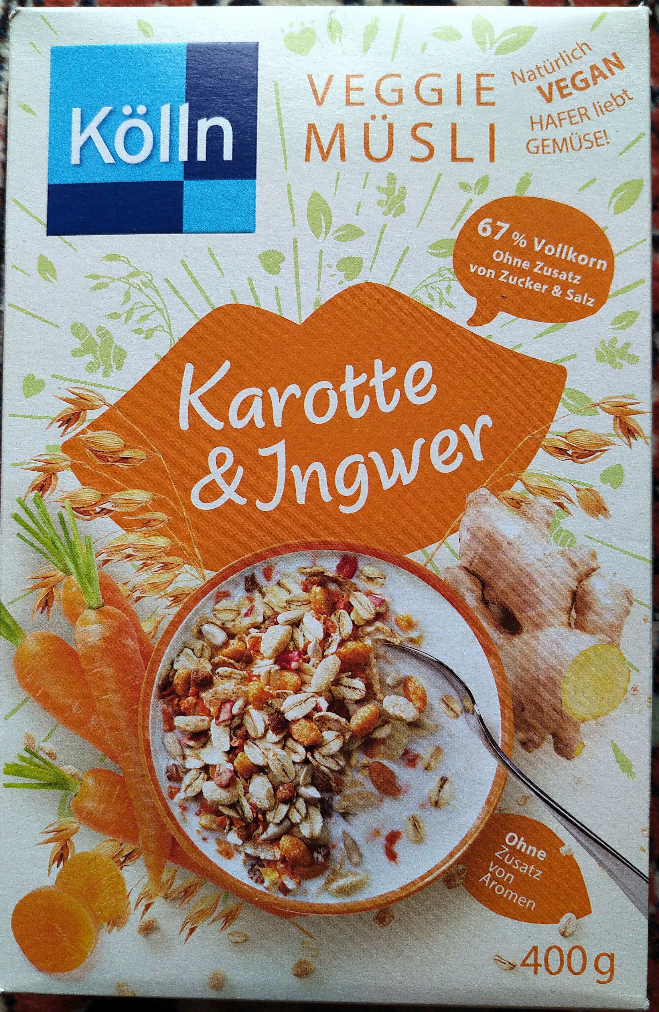 Veggie-Müsli Karotte & Ingwer - Product