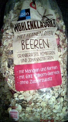 Mühlenklassiker mit feinen roten Beeren - Product