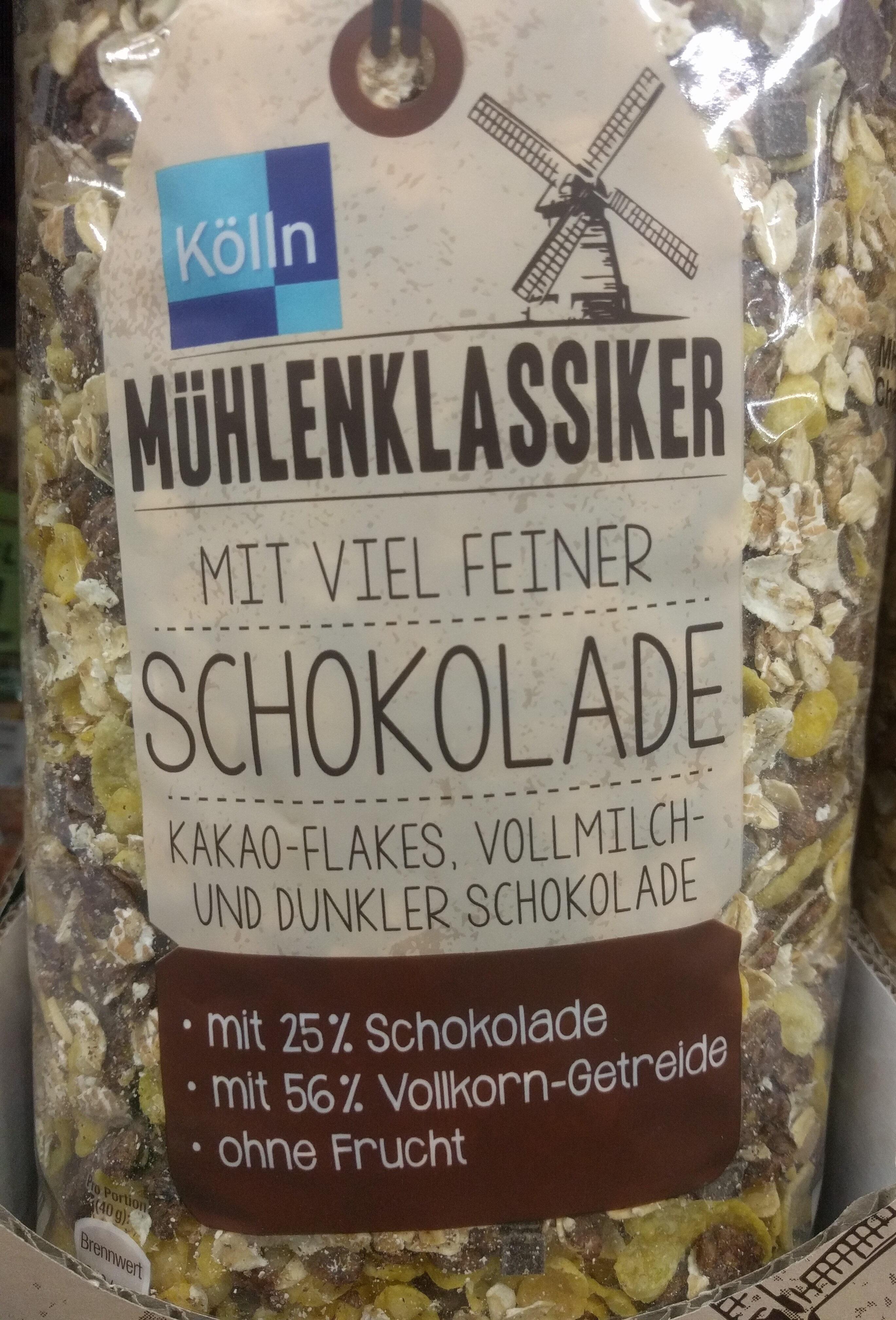 Mühlenklassiker mit viel feiner Schokolade - Product