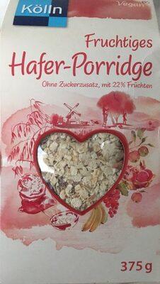 Fruchtiges Hafer-Porridge - Product - de