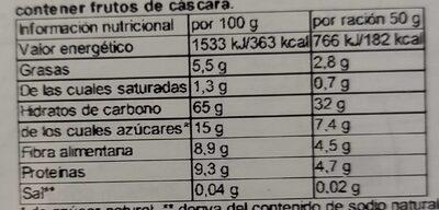 Fruchtiges Hafer-Porridge - Voedingswaarden - de