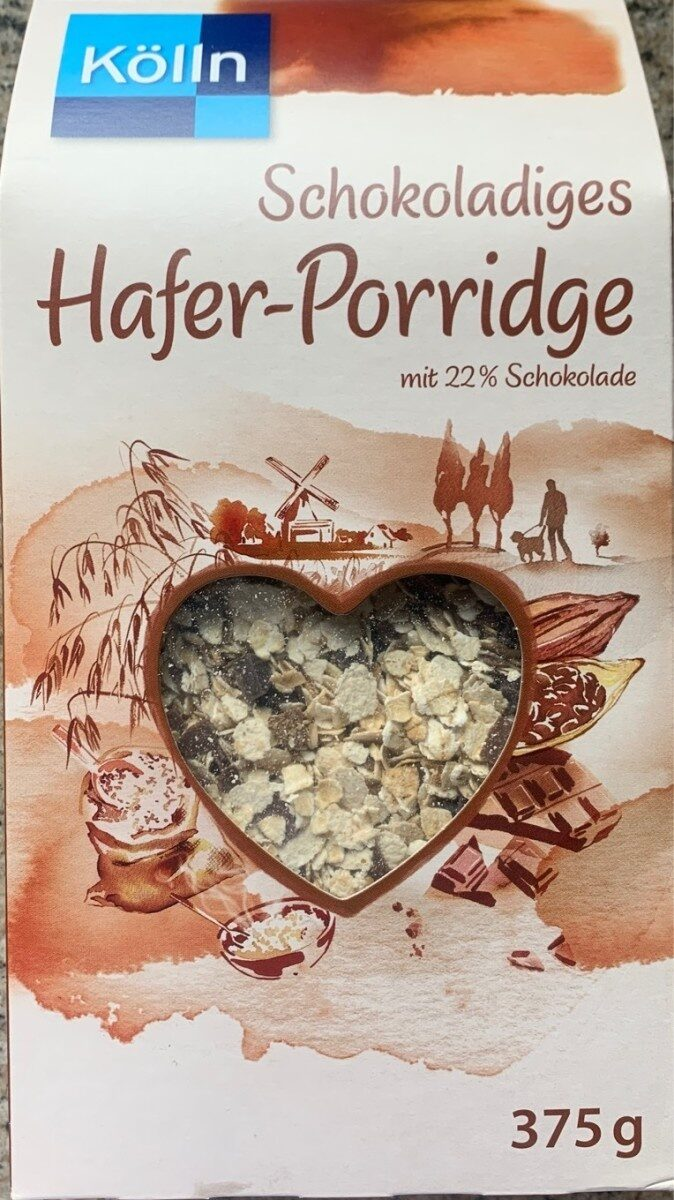 Schokoladiges Hafer Porridge - Product - de