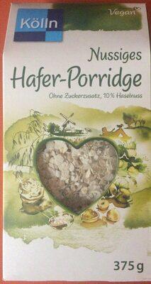 Cremig-zartes Hafer-Porridge Nuss - Produkt - de