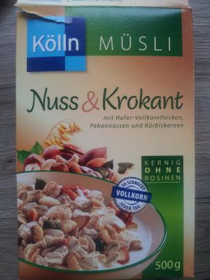Kölln Müsli Nuss & Krokant - Product - de