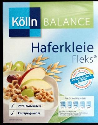 Haferkleie Fleks - Produkt - de
