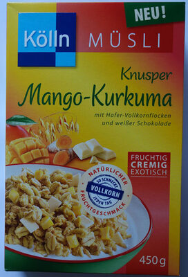 Musli knusper mango kurkuma - Product