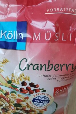 Musli cranberry - Product - fr