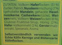 Knusper Honig-Nuss - Zutaten - de
