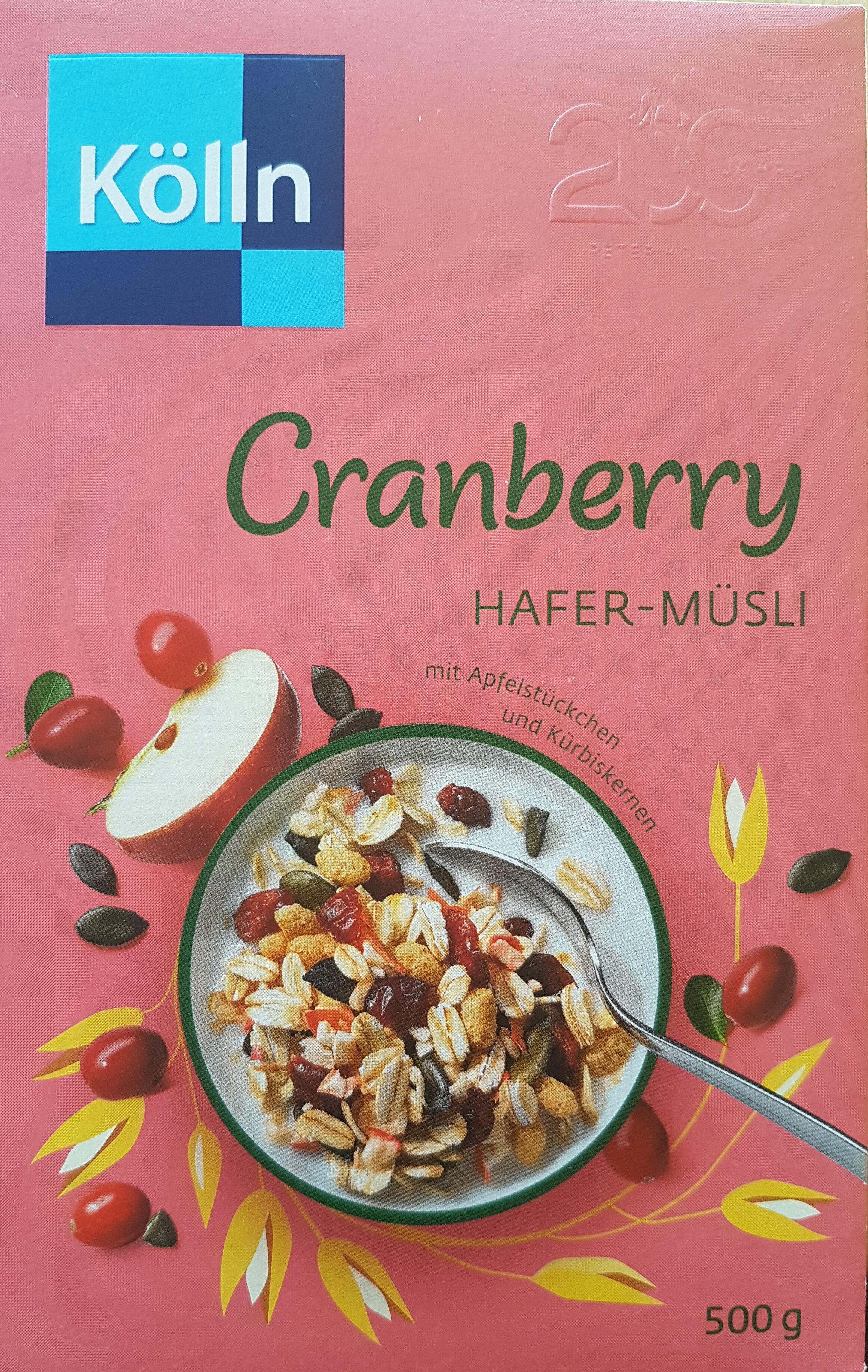 Müsli Cranberry - Product - de