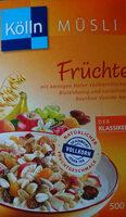 Kölln Früchte Müsli - Produit - de