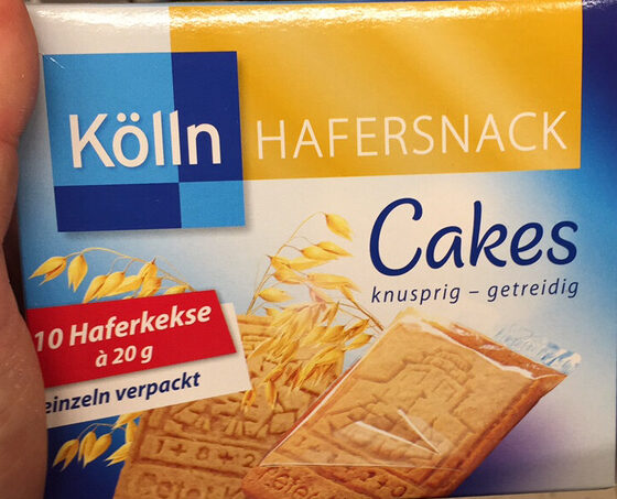 Hafersnack cakes - Product