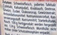 Knoblauch Wurst - Zutaten - de