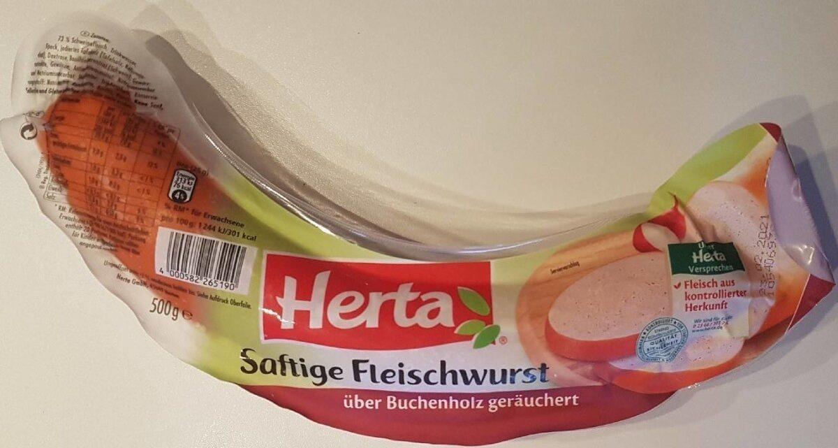 Fleischwurst am Stück - Produkt - de