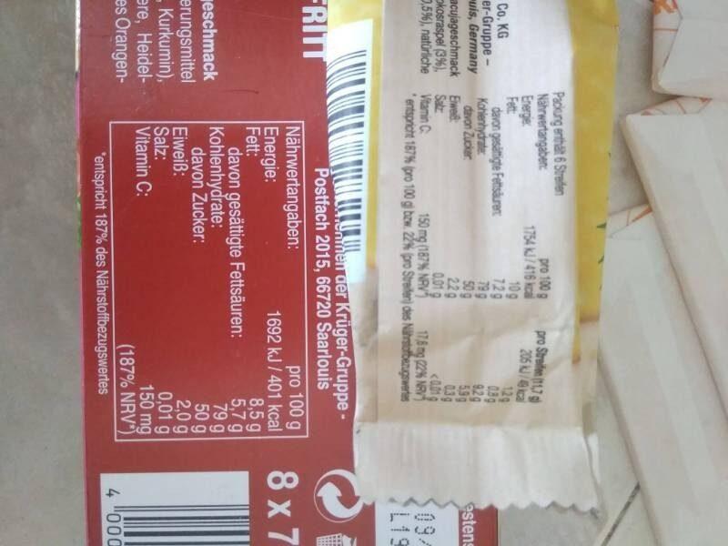 Smoothie Style Kokos Maracuja - Información nutricional