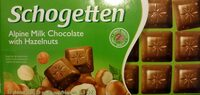 Aplen Milk Chocolate with Hazelnuts - Produkt - de