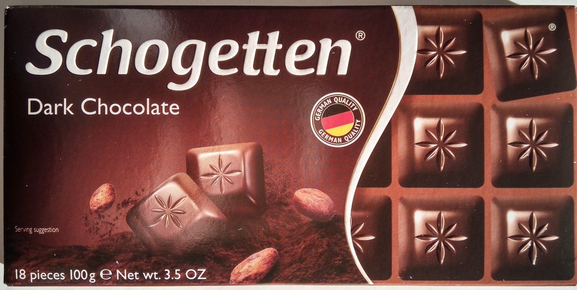 Schogetten, Dark Chocolate - Производ