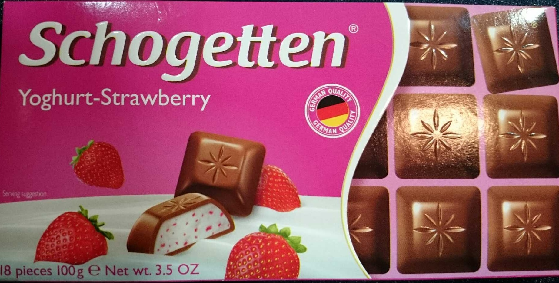 Yoghurt Strawberry Chocolate - Product - en