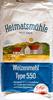 Weizenmehl Type 550 - Produit