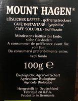 Café - Ingredients