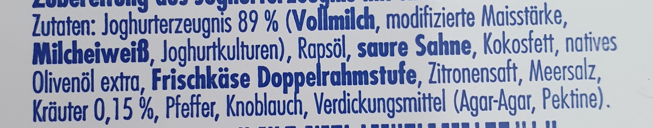 Apostels Sour Cream - Ingrediënten - de