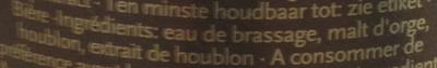 Premium Pilsener - Ingrédients - fr
