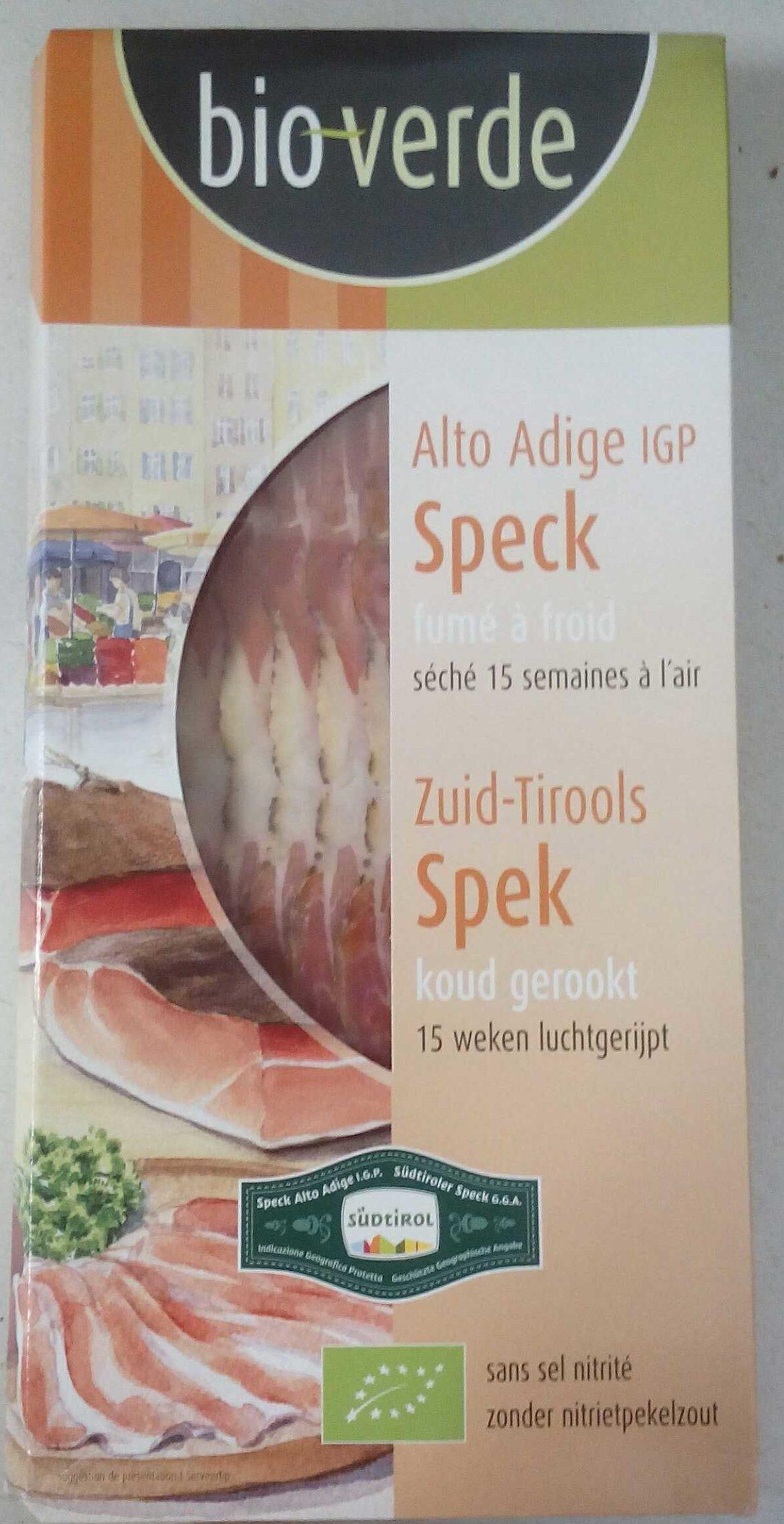 Alto Adige IGP Speck - Product