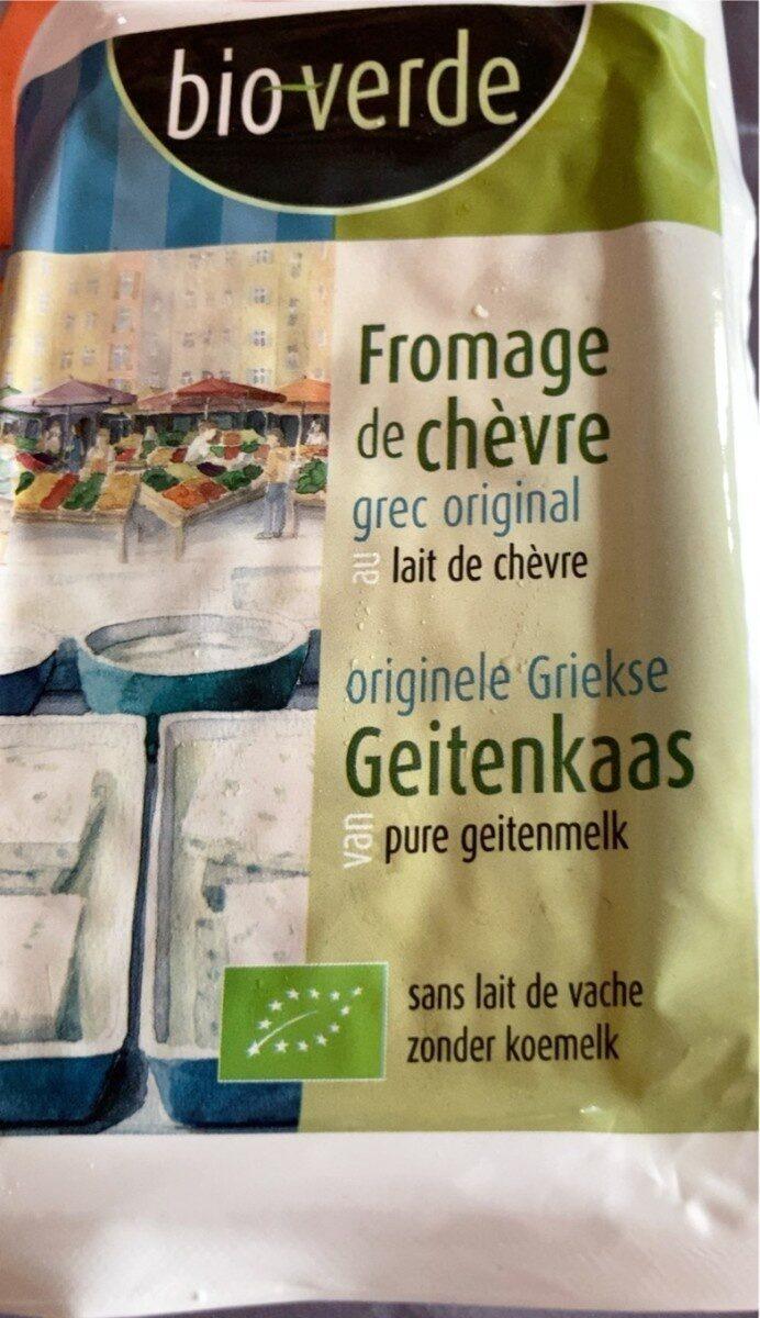 Geitenkaas Fromage de chèvre naturel - Product - nl