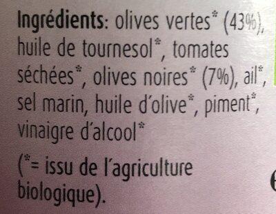 Pesto fais putta-nesca - Ingredients