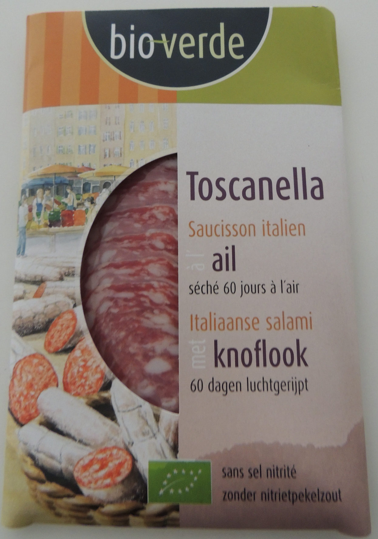 Saucisson italien à l'ail - séché 60 jours à l'air - Product