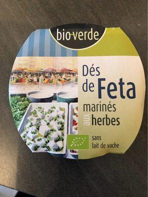 Dés de Feta Marinés aux Herbes - Product