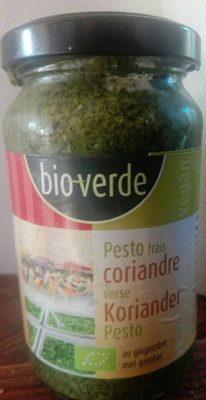 Bio verde Frisches Koriander pesto - Product