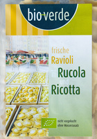 frische Ravioli mit Rucola und Ricotta - Produkt
