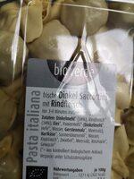 Frische Dinkel Saccottini mit feinem Rindfleisch - Zutaten - de