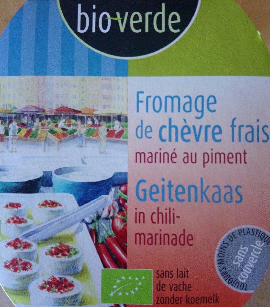 Fromage de chèvre frais mariné au piment - Produit - fr