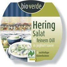 Bio verde Heringssalat In Joghurt dill sauce - Product - nl