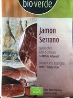 Jamon serrano - Product - fr