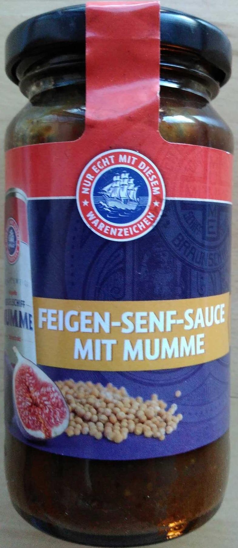 Feigen-Senf-Sauce mit Mumme - Product - de