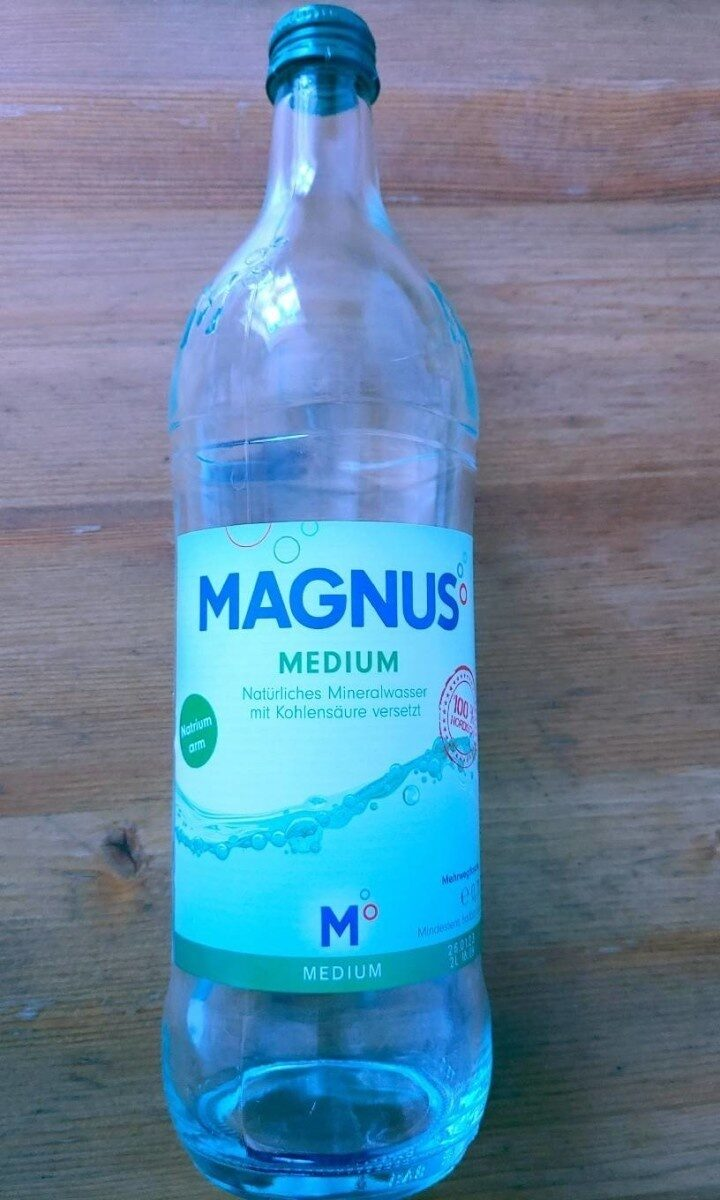 Magnus Mineralwasser - Prodotto - de