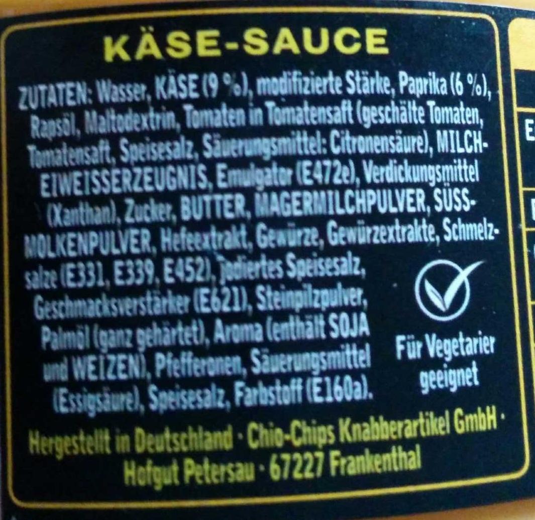 Dip! Hot Cheese - Ingrediënten - de