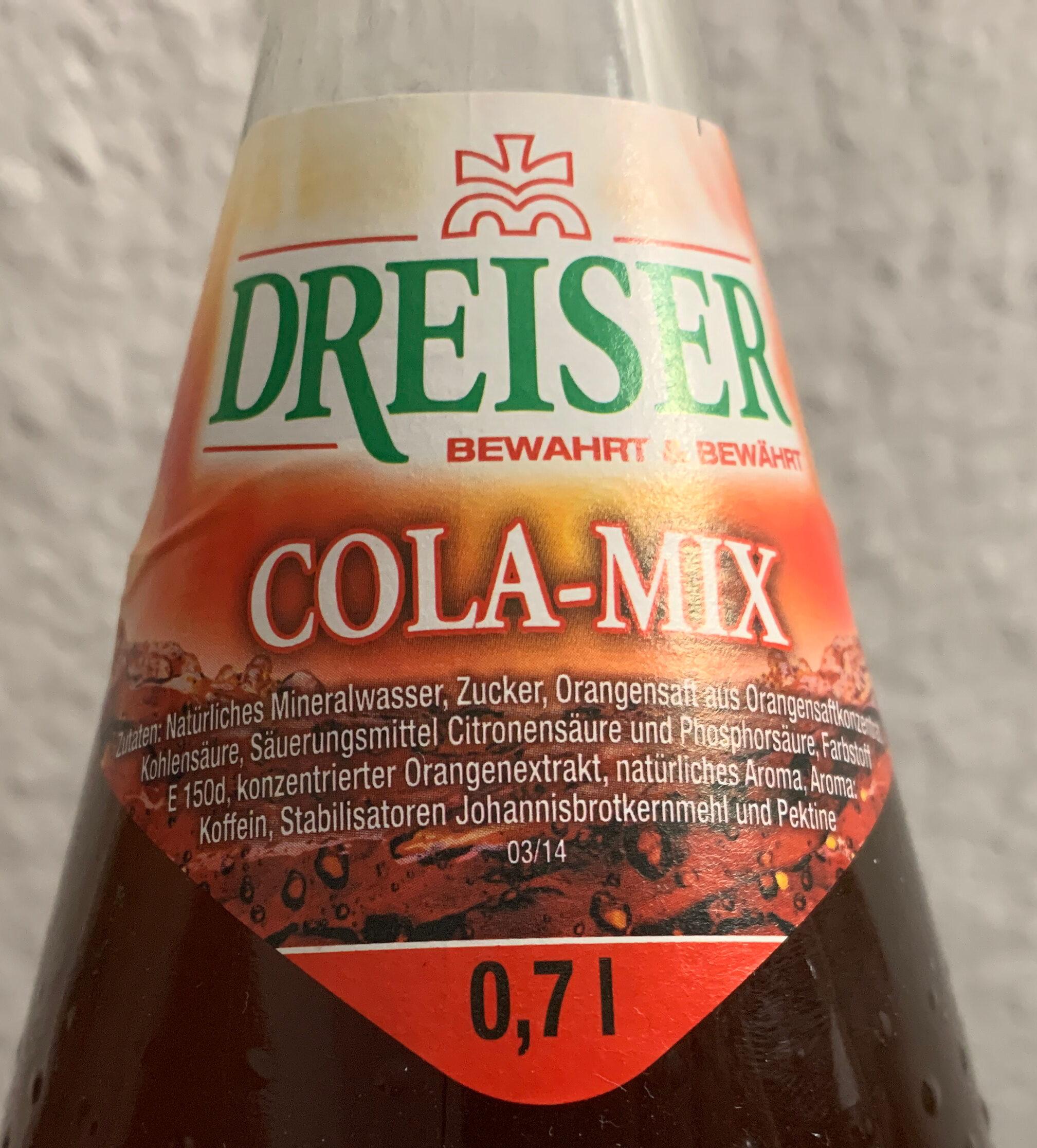 Dreiser - Ingredienti - de