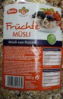 Frutche musli - Producto