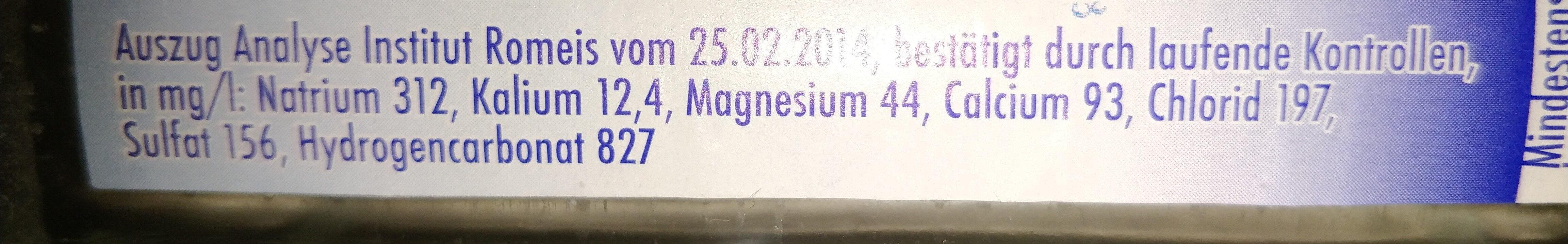 Aquarissima Classic - Ingredients - de