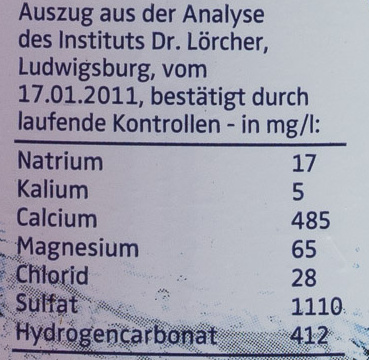 alwa classic - Nutrition facts