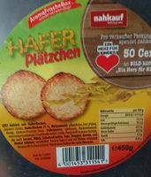 Hafer Plätzchen - Produkt