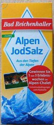 Alpen JodSalz (+Fluorid) - Produkt