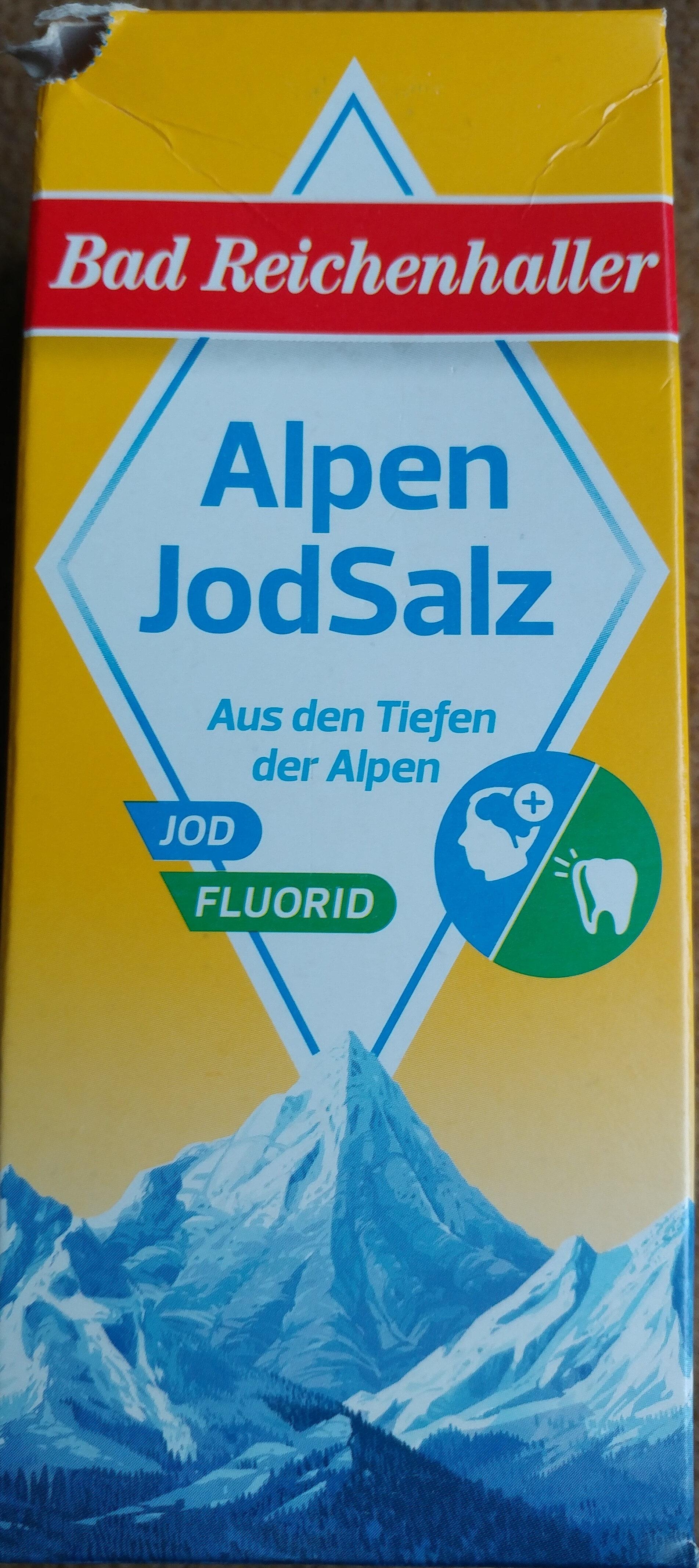 Alpen JodSalz - Produkt - de