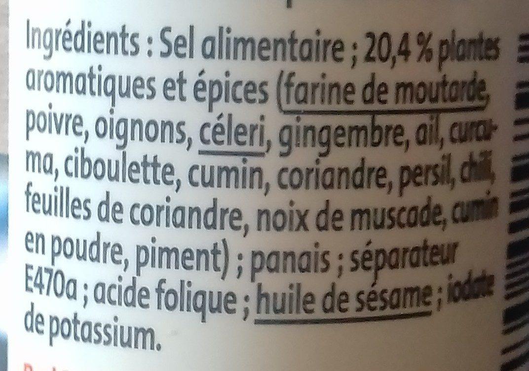 Assaisonnement pour wok - Ingrédients - fr