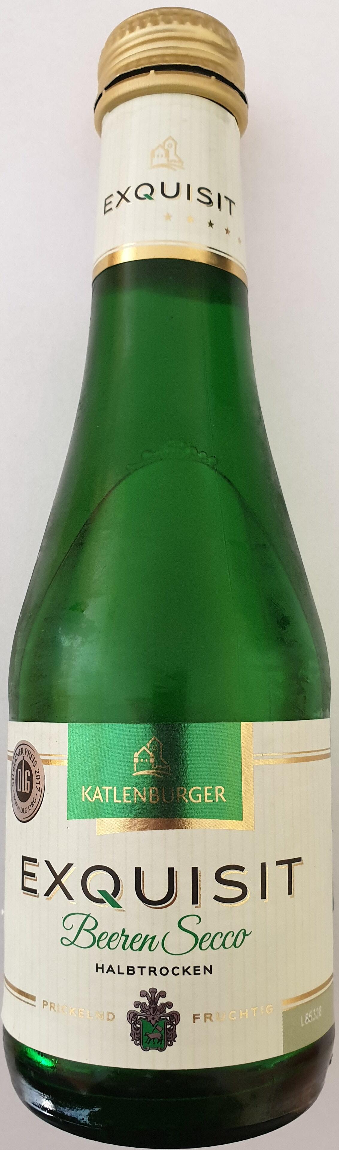 Exquisit BeerenSecco halbtrocken - Product - de